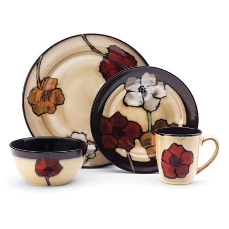Pfaltzgraff Studio Sarina 16-Piece Dinnerware Set - Walmart.com ...
