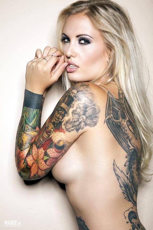Cute blonde tits