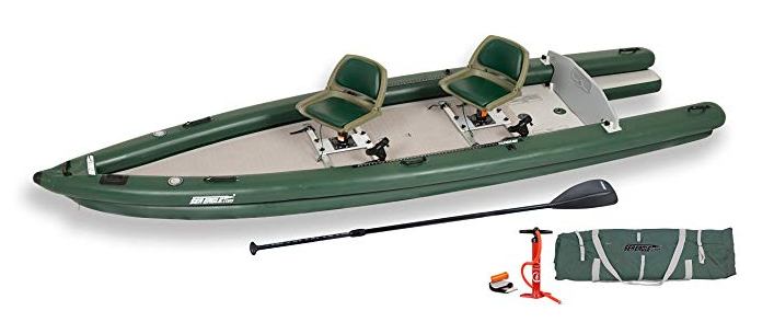 Sea Eagle Fsk16 Fishskiff16 Inflatable Frameless Fishing Boat 2 Person Swivel Seat Package Kayak Kayakfishing Fishing Onthewa Fishing Boats Sea Eagle Fish