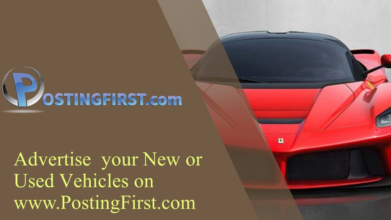 Advertise your new or used vehicles httpwww