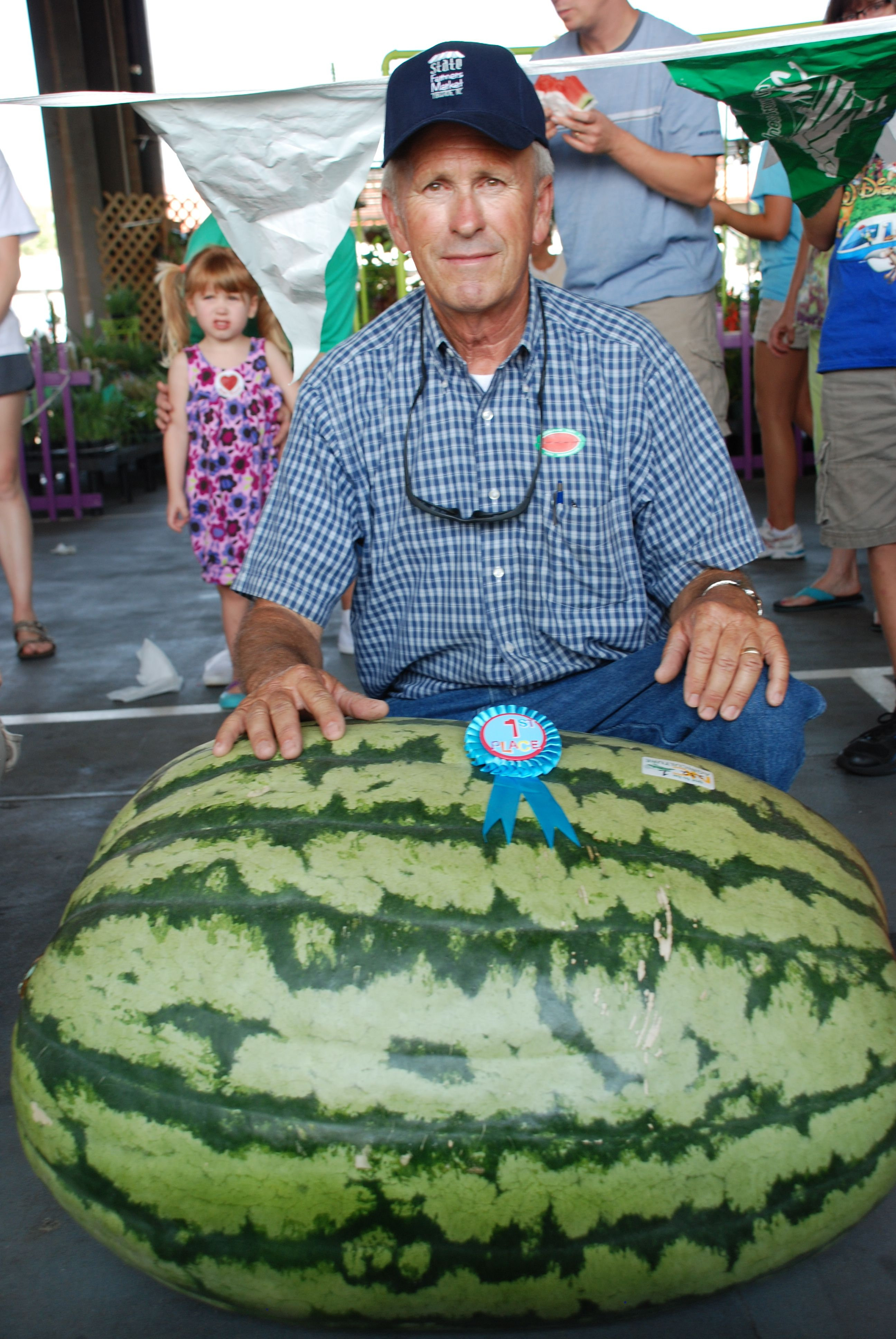 Largest Watermelon Contest to be held at State Farmers Market July ...