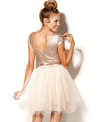 Homecominh Tulle Juniors Dresses