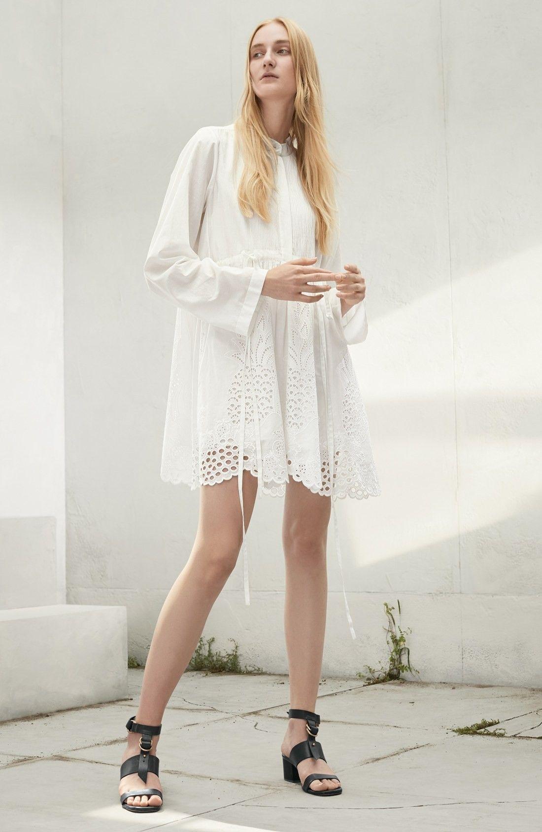 Chloe Pineapple Lace Cotton Dress Cotton Dresses Dresses Nordstrom Dresses [ 1687 x 1100 Pixel ]