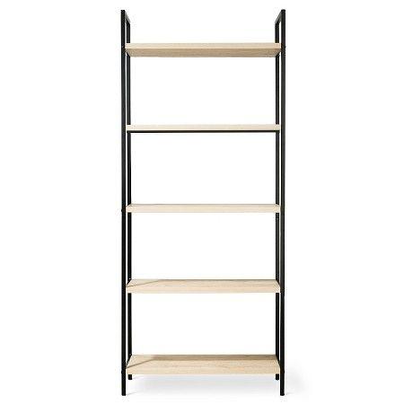 """Target Book Shelf darley bookcase - vintage oak - threshold™   oaks, 75"""" and le"""