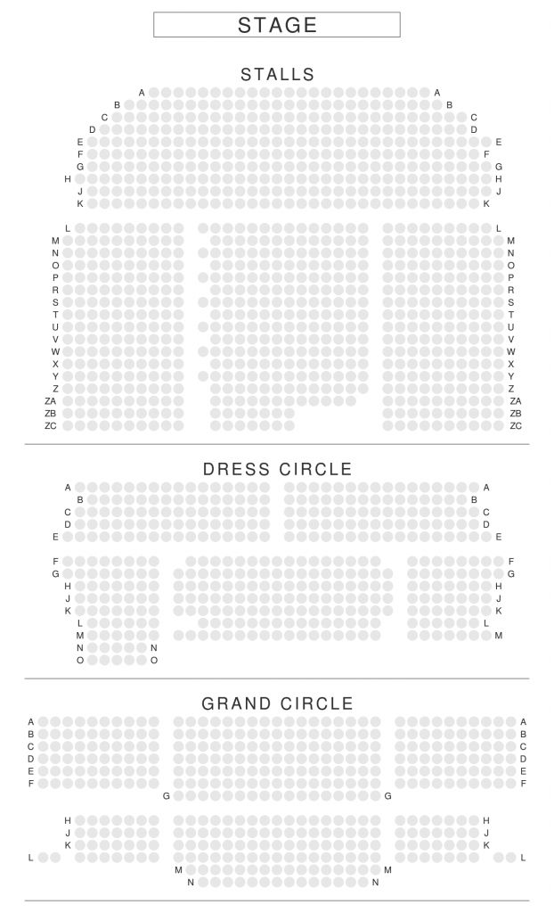 Incredible Prince Of Wales Theatre Seating Plan Prince Of Wales Theatre Prince Edward Theatre Seating Plan