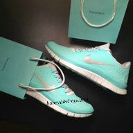 Tiffany Blue Nike Free 2012 Running Shoes Silver Womens ADORABLE!