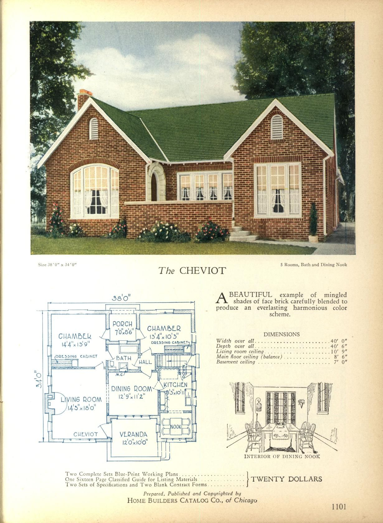 Pin On 1800 S 1940 S House Plans