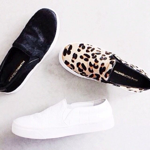 Windsor Smith slip-ons. Want them all!