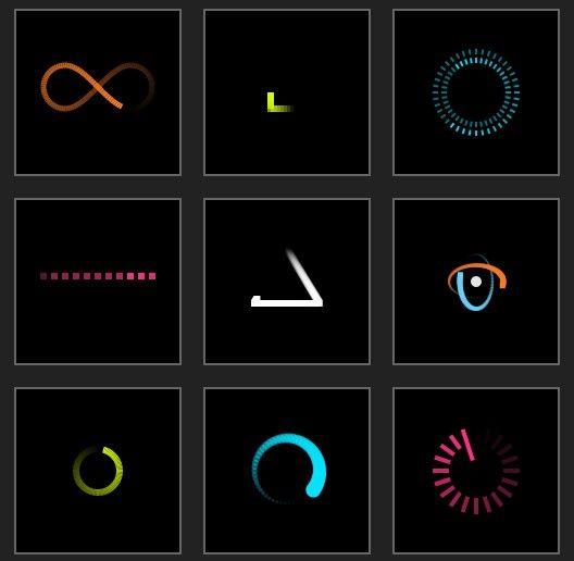 16 css3 jquery loading animations and progress bars | Web