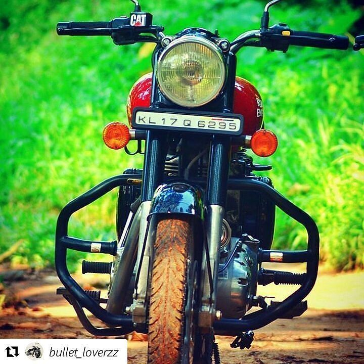 Repost Bullet Loverzz Royal Enfield Red Bullet Classic