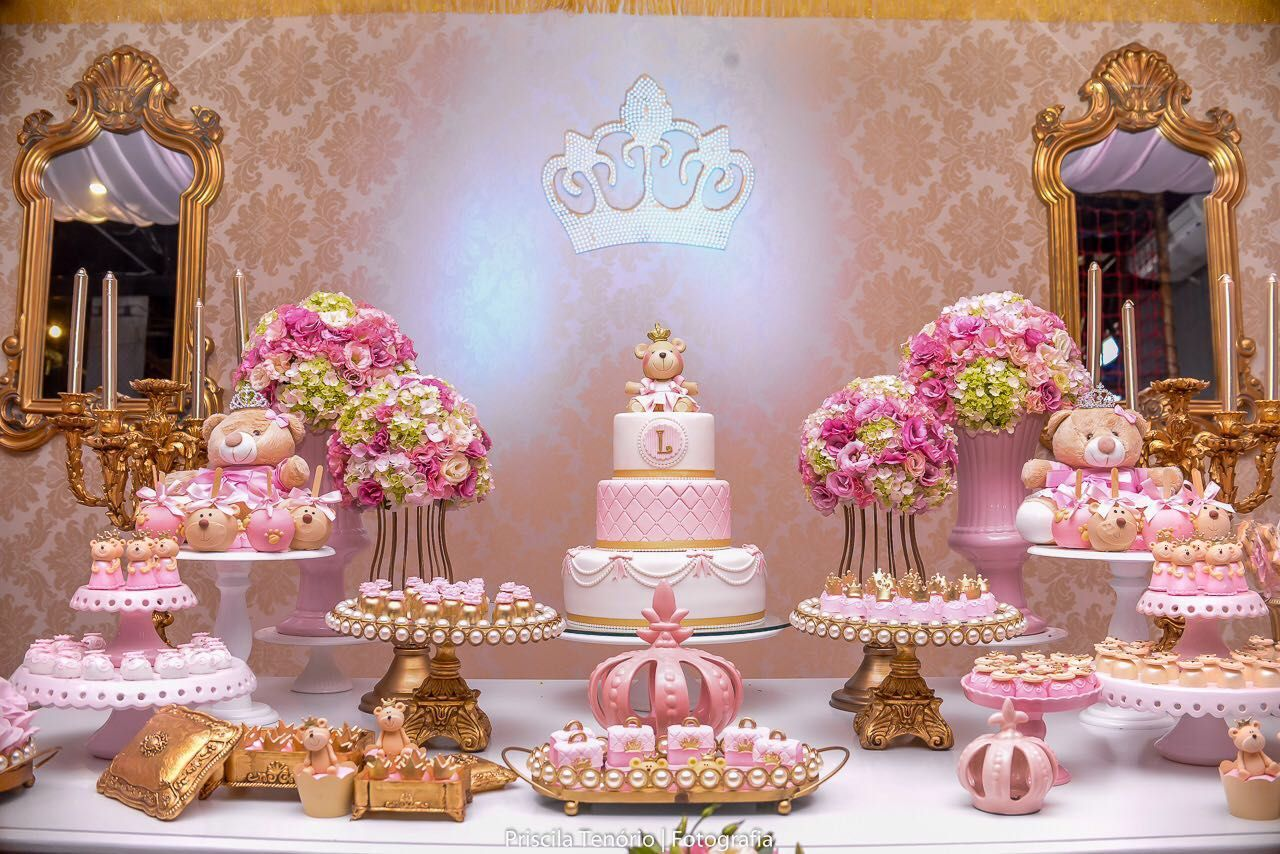 Princess Baby Showers Princess Party Dessert Tables