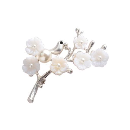 Lux Broszka Kwiaty Galazka Rzezba W Muszli Pudelko 8229700736 Oficjalne Archiwum Allegro Stud Earrings Jewelry Hair Accessories