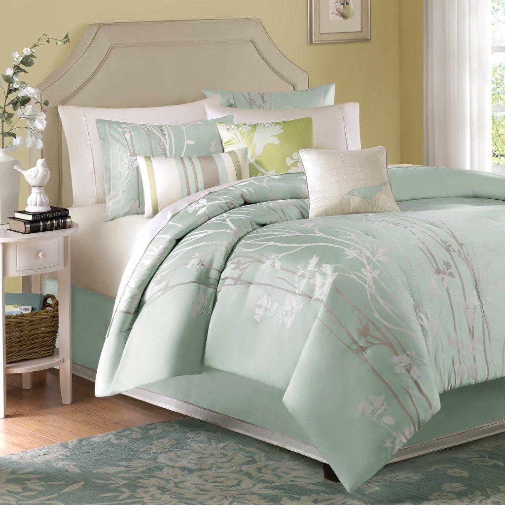 Best Blue and Green Comforters Queen Comforter