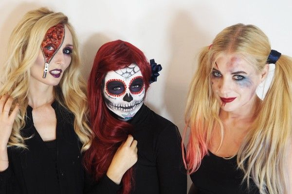 WATCH How To Do 3 Genuinely Scary Halloween Looks -   www - terrifying halloween costume ideas