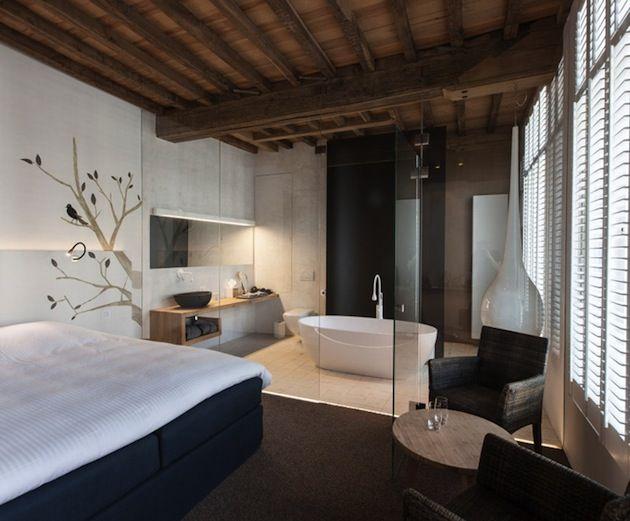 expressive and woodsy hotel in belgium bedroom ideas bedroom rh pinterest com