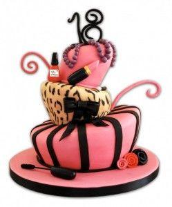 Birthdaygirlcakescupcakesmumbai Party - Happy birthday 18 cake
