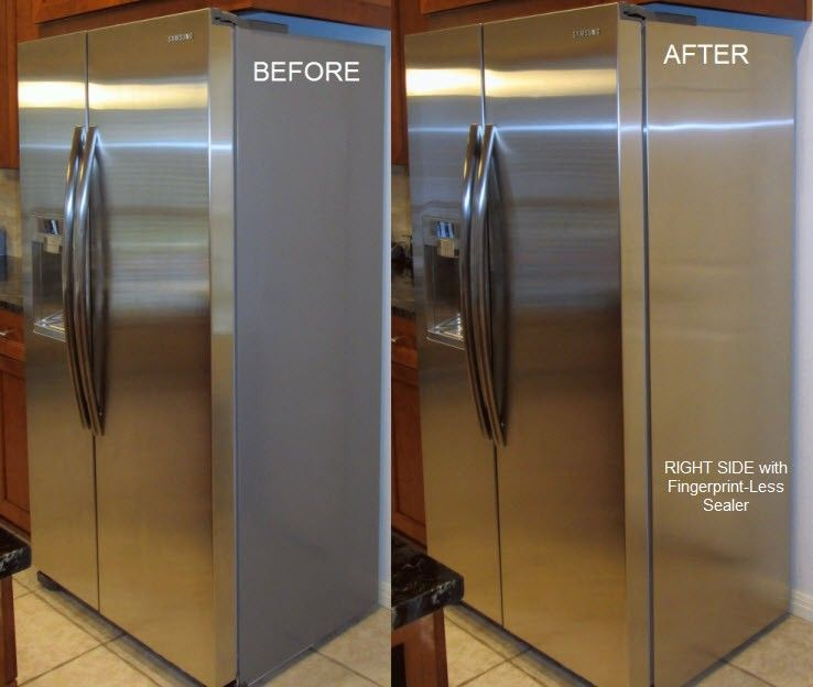 To Hide The Side Of The Refrigerator Refrigerator Panels Stainless Steel Refrigerator Custom Kitchens