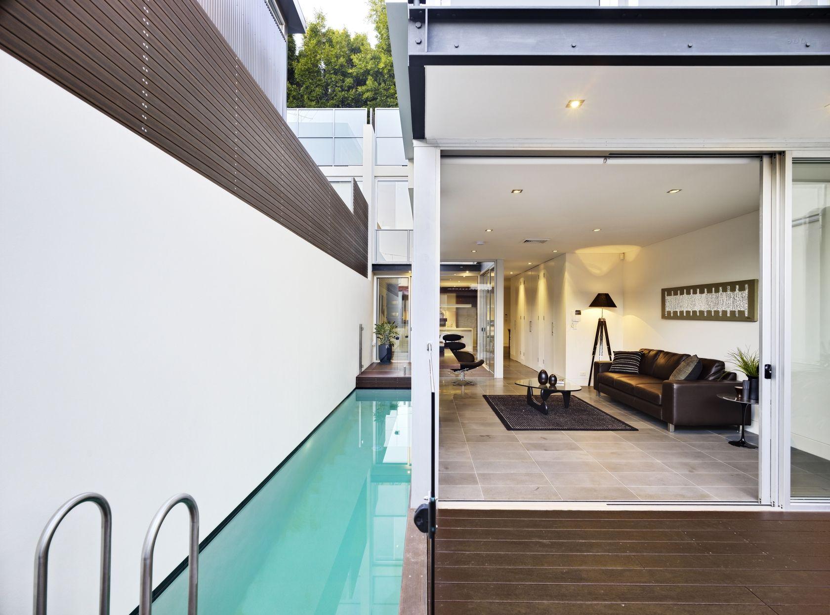 super skinny lap pool dream home in 2019 pool house designs rh pinterest com