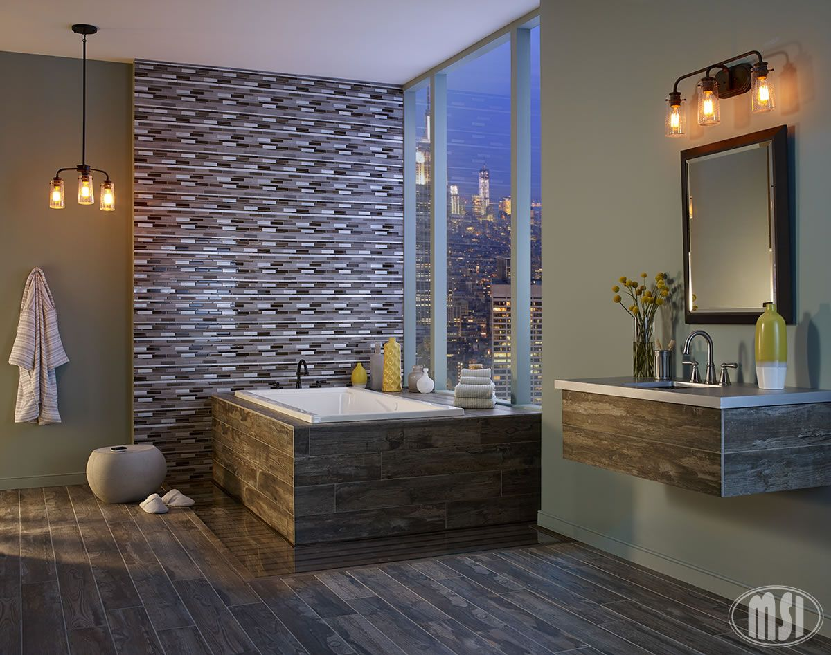 Gushing over this stunning bathroom featuring our