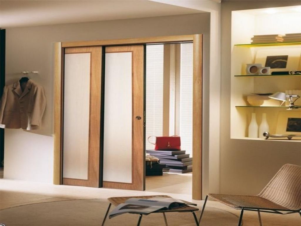Pocket Doors With Frosted Glass Panels Httpretrocomputinggeek