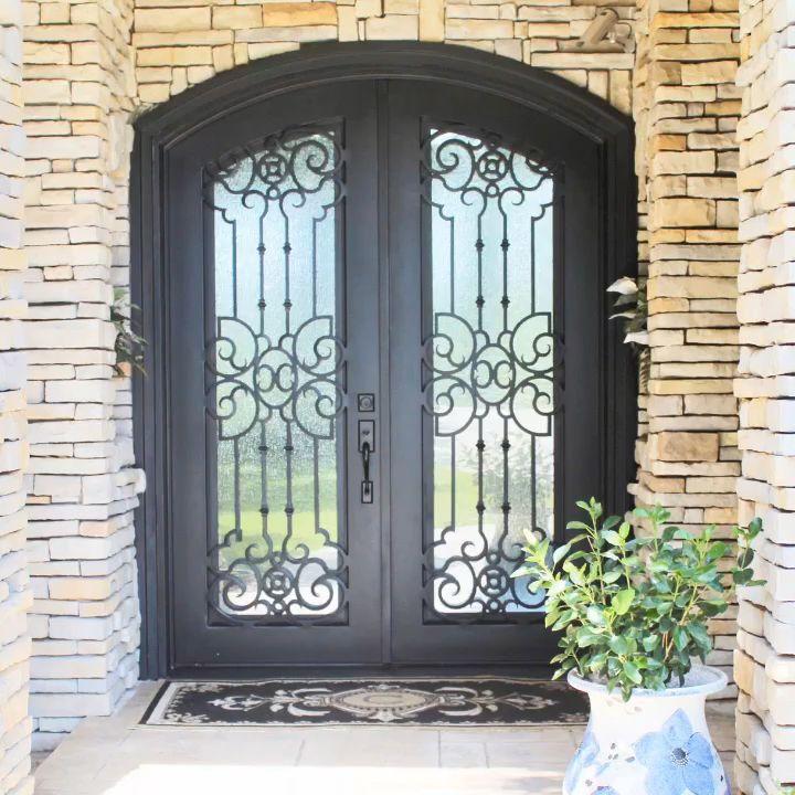 Wrought Iron Door renovation