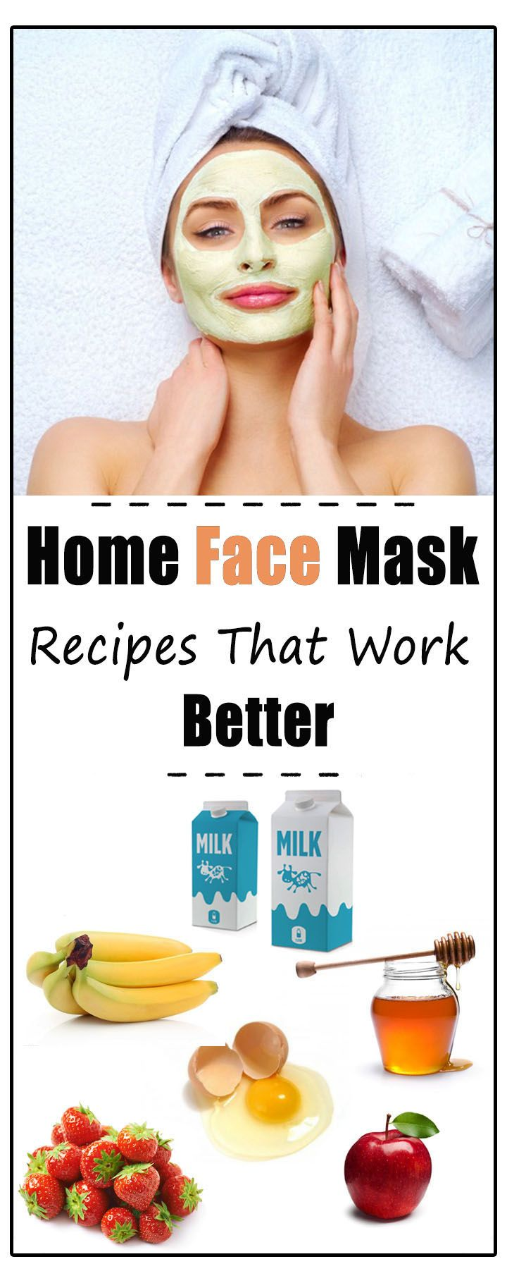 home face mask recipes that work better healthy society face mask rh pinterest com