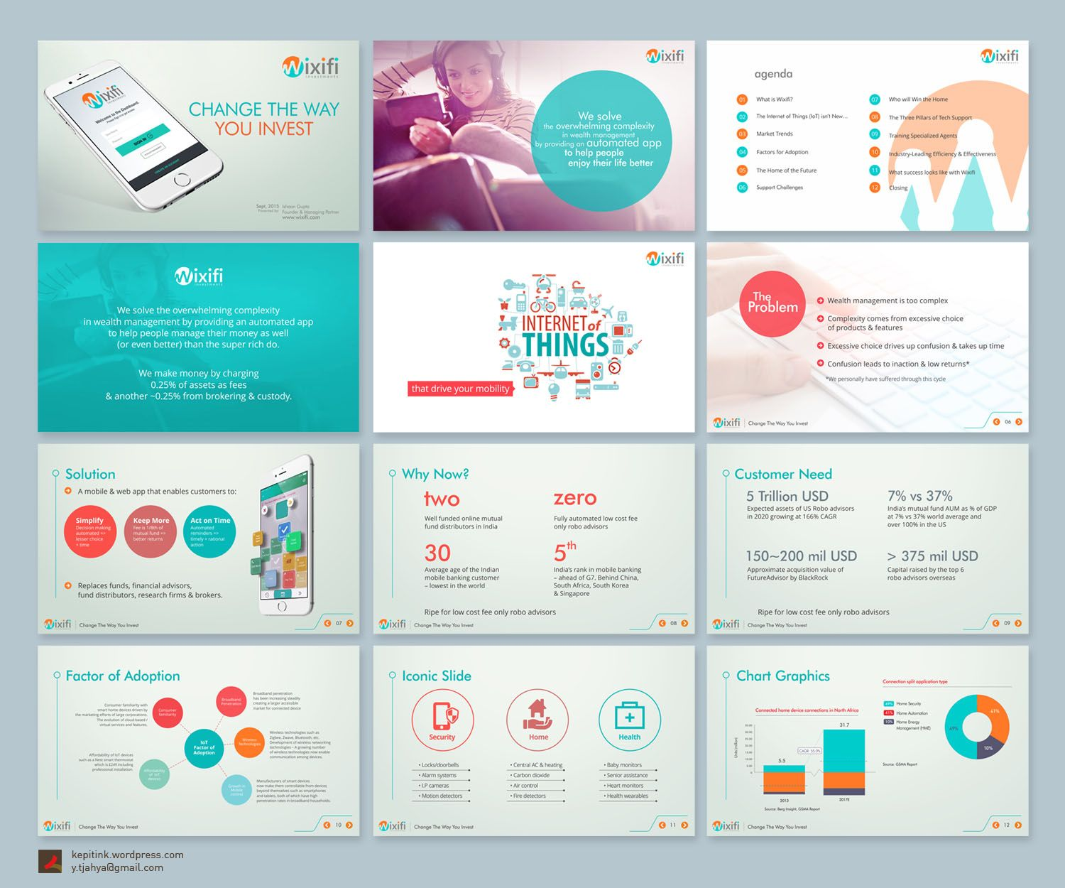 Check out this Upmarket, Bold PowerPoint Design for Ishaan Gupta ...