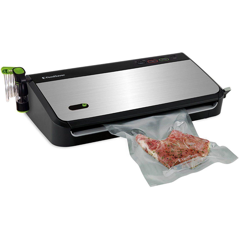 Foodsaver fm2435ecr vacuum sealing system with bonus