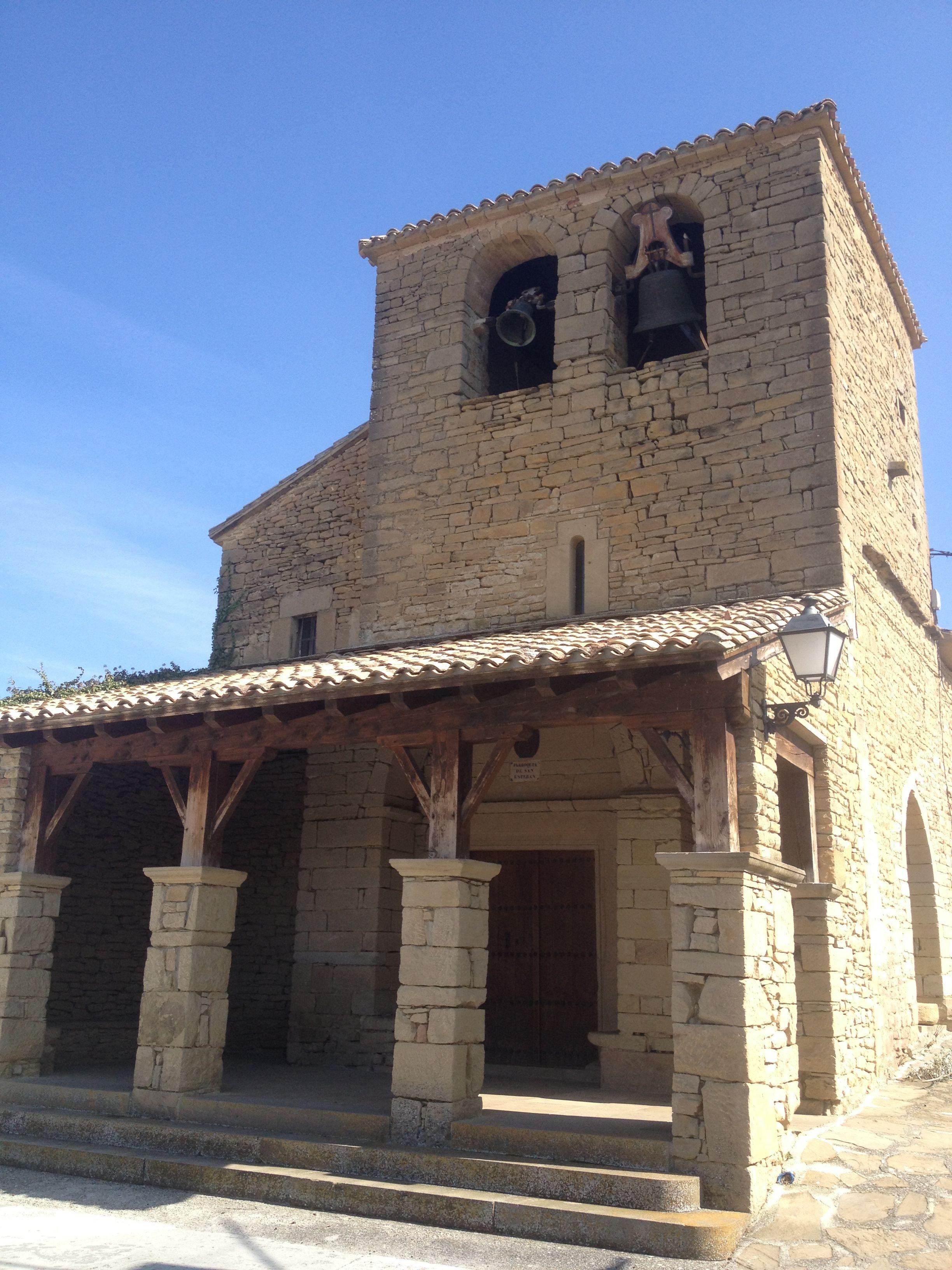 Iglesia de San Esteban de Iracheta, Navarra