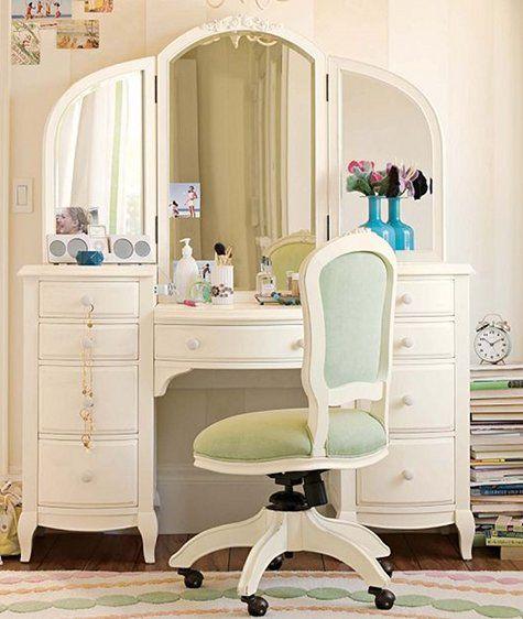 vanity roundup dream faith s room daughter vanity table set rh pinterest com