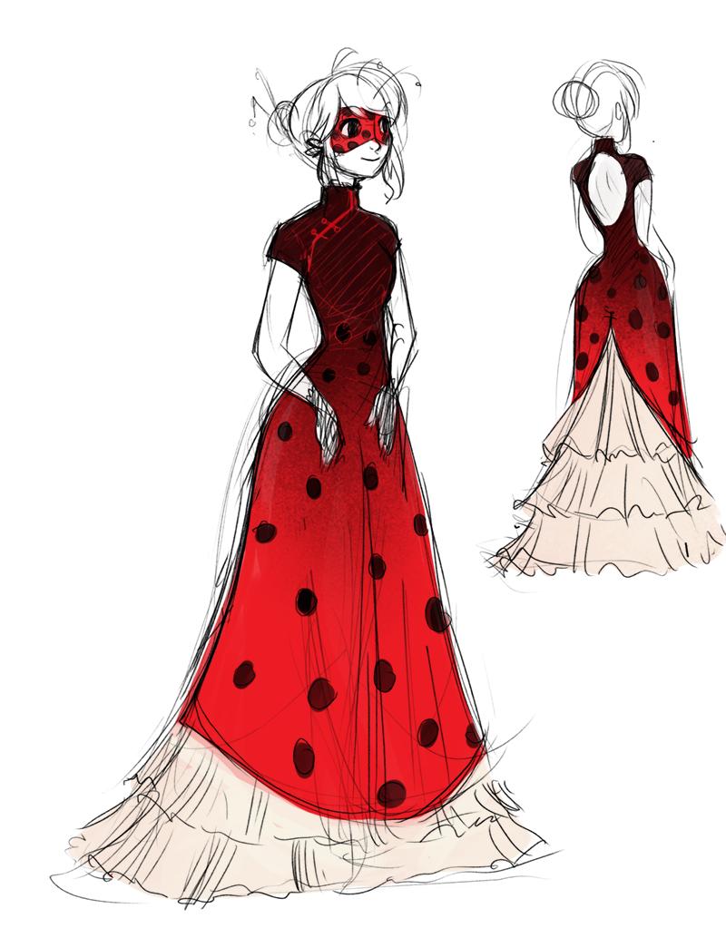 Masquerade Ladybug   Lady bug, Kleider zeichnen, Ladybug ...
