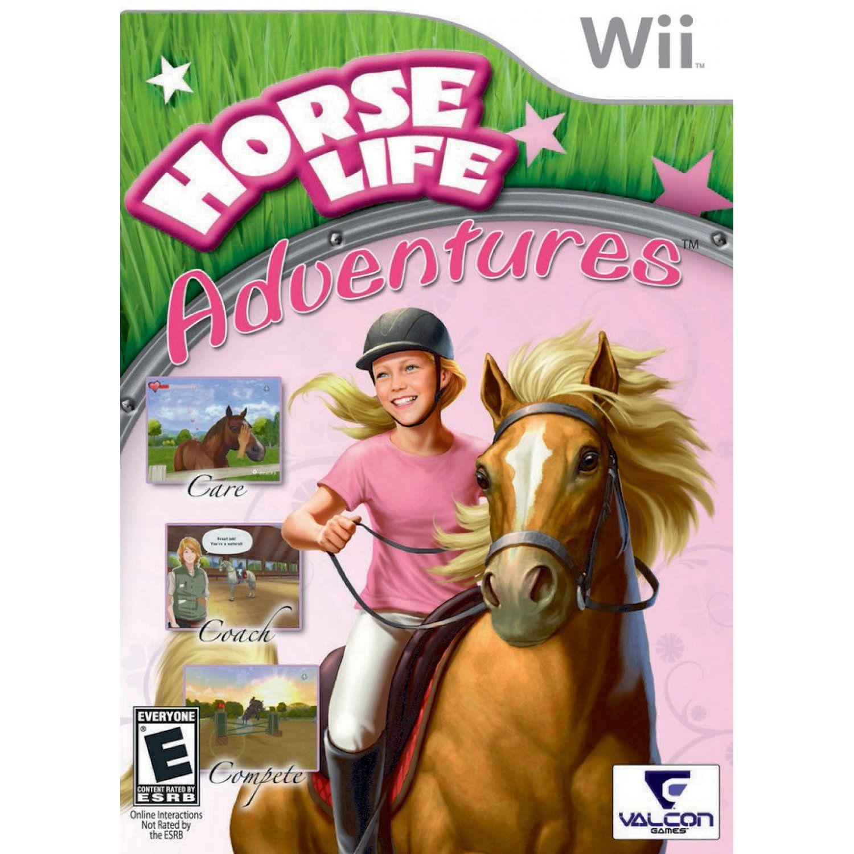 Horse Life Adventures Horses, Wii