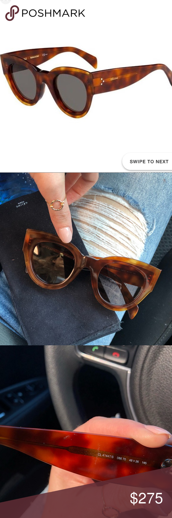 177852c27d Celine Sunglasses Celine 41447 sunglasses - PERFECT CONDITION (worn once).  Bought at Nordstrom
