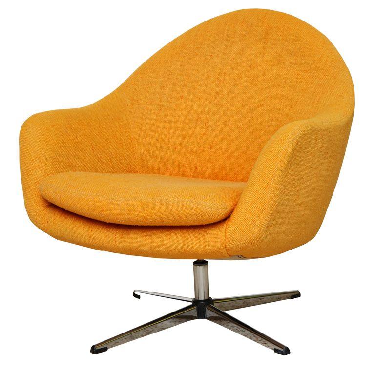 1stdibs | Fab Overman Swivel Egg Chair Sweden | Home > Liv rm ...