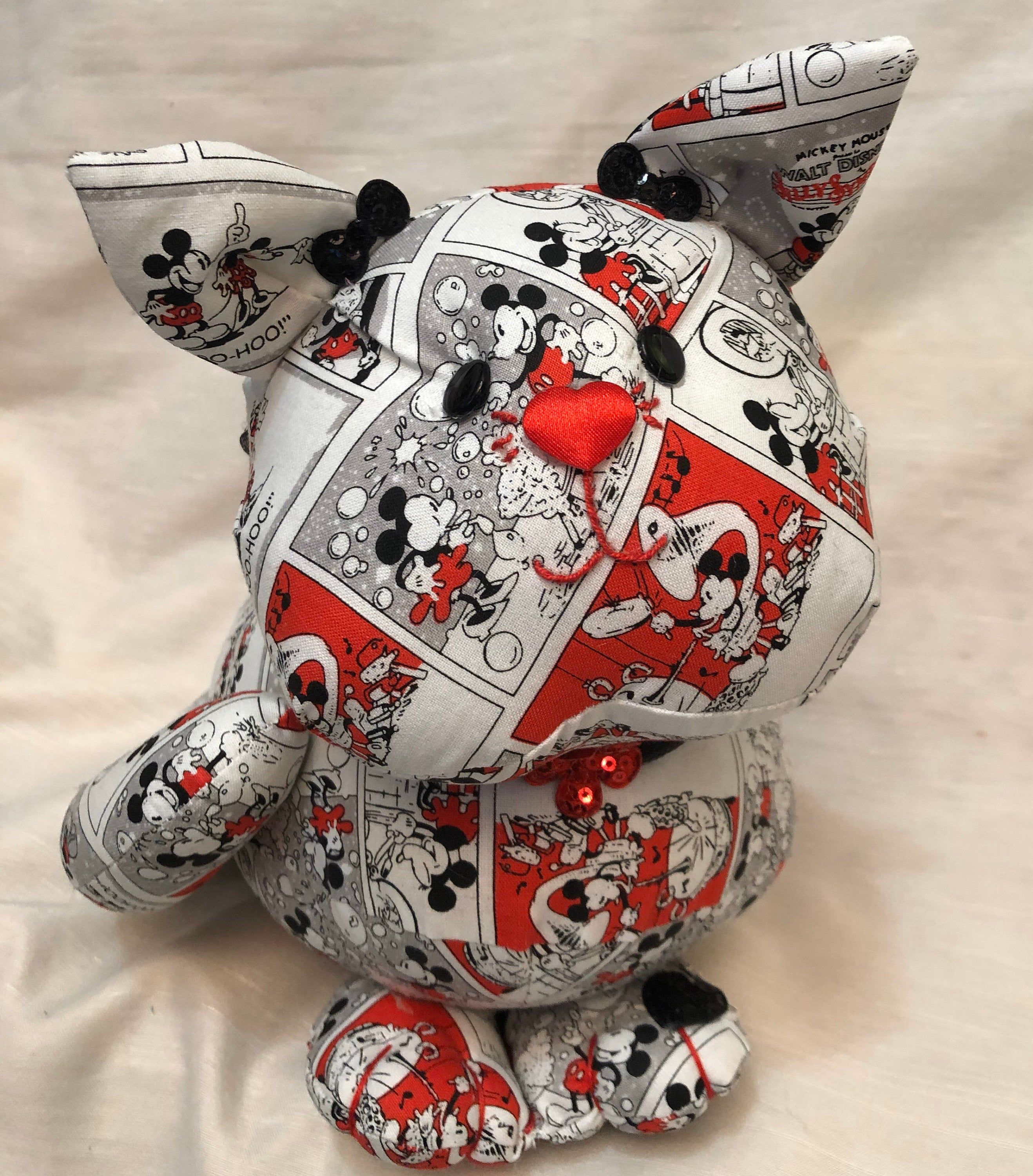 Handmade stuffed animal, a cat lovers gift, great for kids