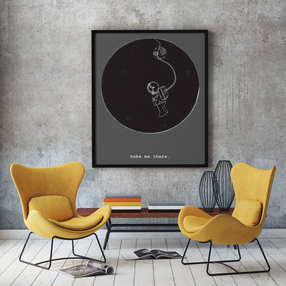 living room art prints%0A Outer Space Nursery Space Print Unique Gift Idea Black And White  Scandinavian Poster Space Art Astronaut Printable Art Extra Large Wall Art