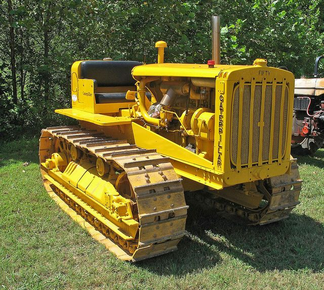 Caterpillar Fifty Crawler
