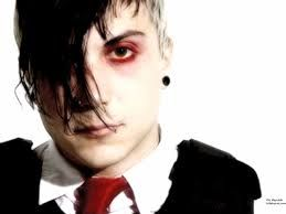 My darling little Frankie <3 Frank Iero from My Chemical Romance with his Misfit based hair style