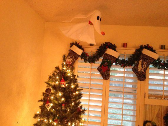 Floating Zero decoration Nightmare Before Christmas in 2018