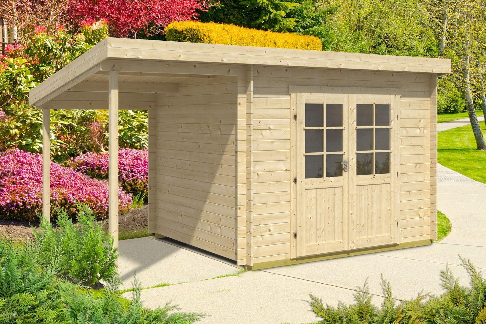 Pultdach Gartenhaus Modell Maria (ISO) mit Schleppdach Bestellen Sie Ihr Gartenhaus beim Fachmann! Über 1.000 Modelle mit Flachdach, Spitzdach, 5-Eck uvm. +++ 0€ Versand. +++ Jetzt Schnäppchen sichern!