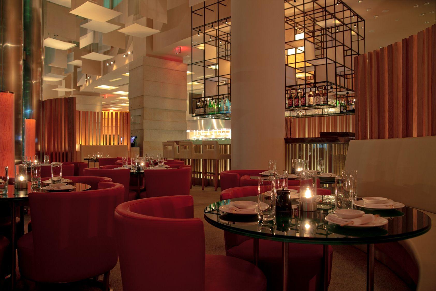 Zuma Restaurant Miami Fl Usa Miami Lounge Area Photo Credit Bill Wisser