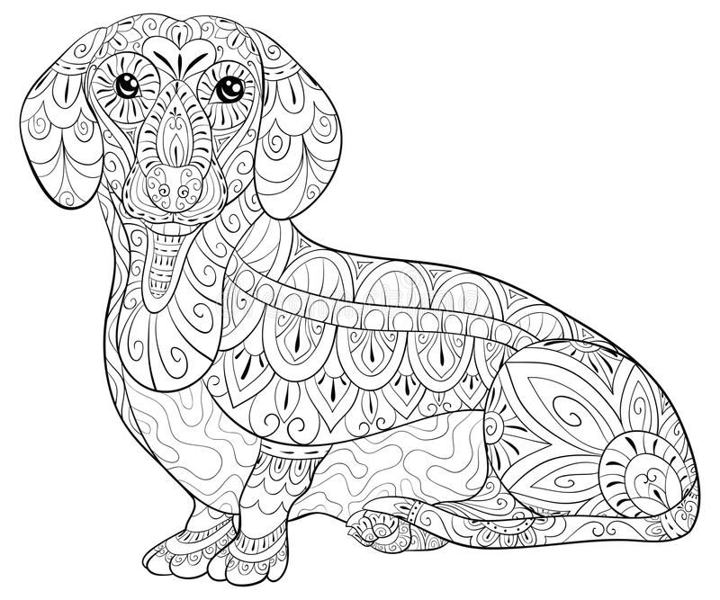 Pin By Mary Hollis Bacon On Coloring Dog Dog Coloring Page Dachshund Colors Dog Coloring Book