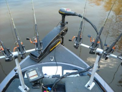 Easing into the spider rig spider rigging facts tips for Spider rigs for crappie fishing