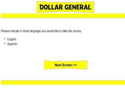 DgcustomerfirstCom   Dollar General Survey Sweepstakes