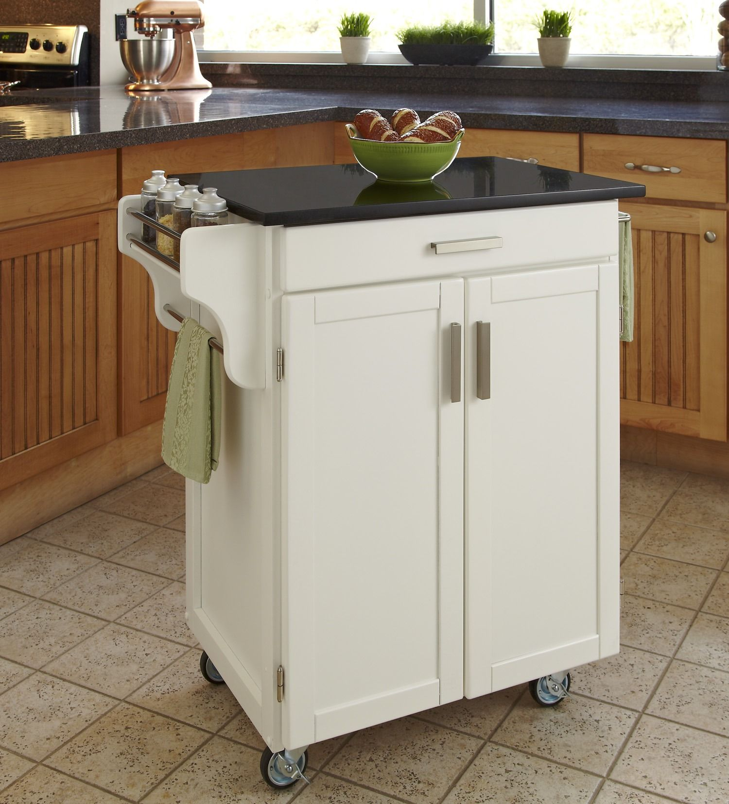 Gemütlich Crosley Granit Tragbare Küche Wagen Insel In Weiß Bilder ...