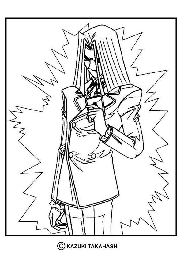 Yu-Gi-Oh coloring page. More content on hellokids.com | Manga ...