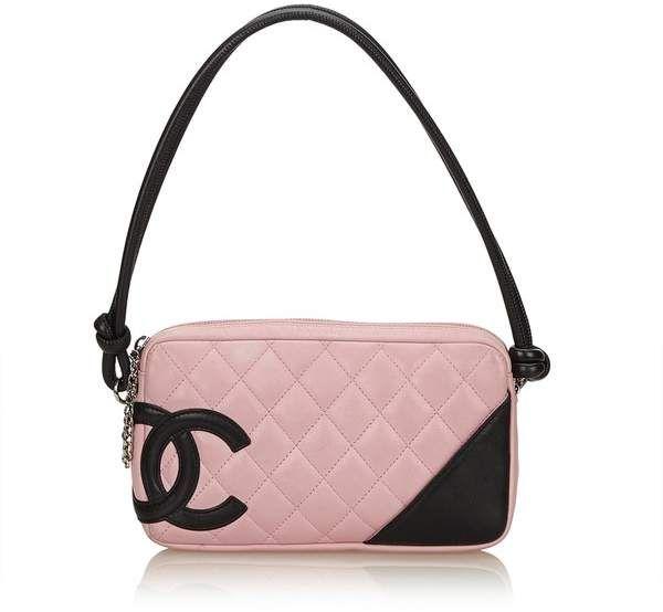 f446c3caf1b4fd Vintage Chanel Cambon Ligne Pochette | First Ladies in 2019 | Chanel ...