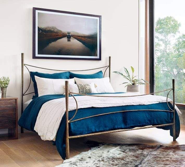 pottery barn acadia bed new casa bed bedroom bedroom furniture rh pinterest com