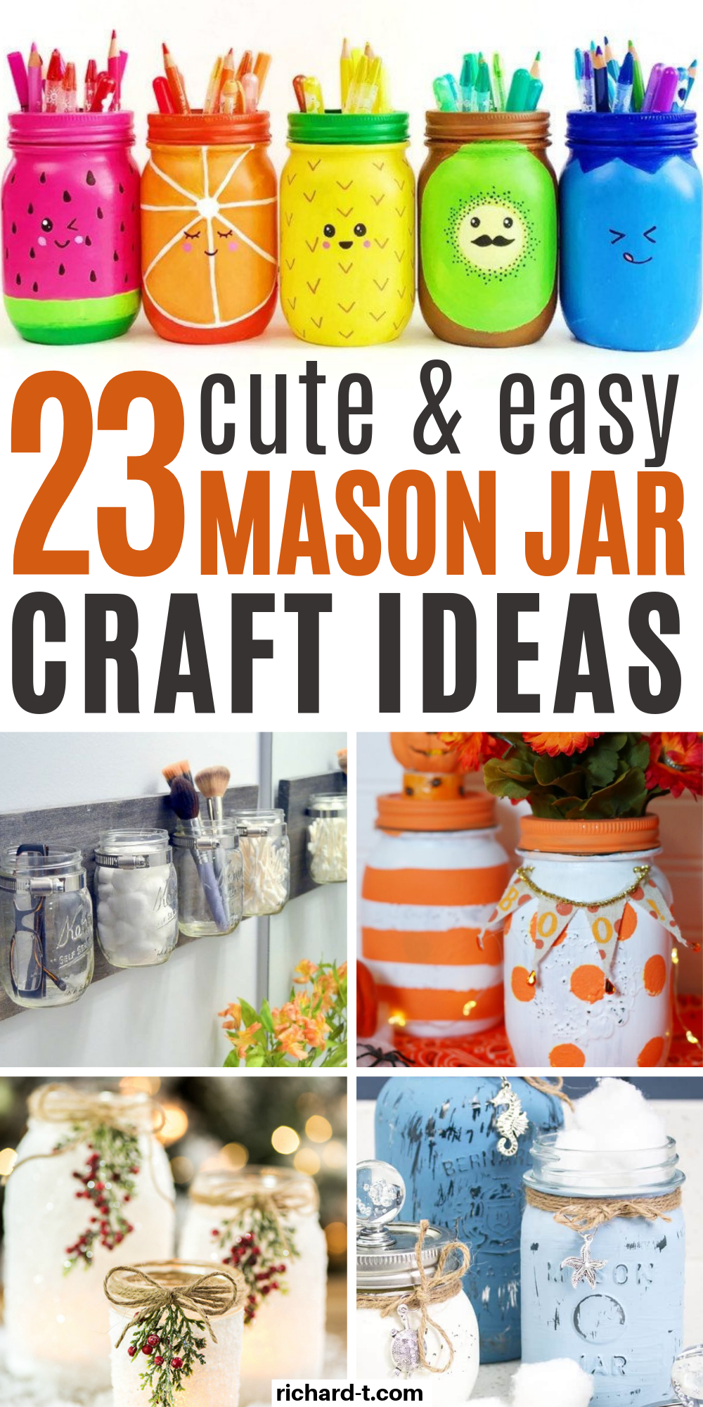 23 Easy Diy Mason Jar Crafts That Look Spectacular With Images