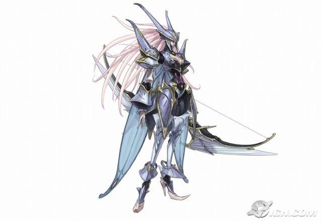 Luthia la Doncella Luna de White Knight Chronicles